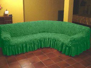 покрывало на угловой диван