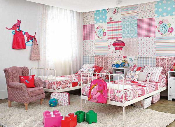 Декорирование детской комнаты лоскутным шитьем