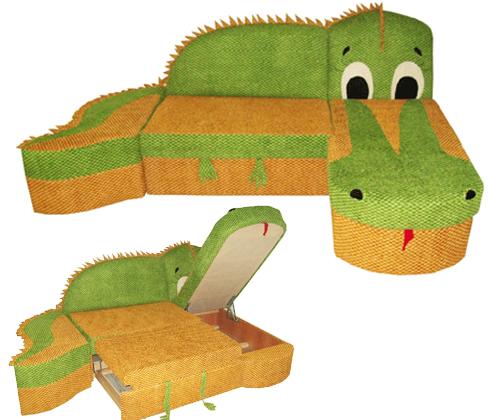 Детский угловой диван