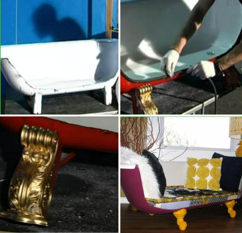 Дизайнерский диван своими руками