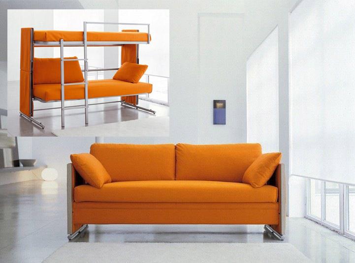 Двухъярусный диван трансформер