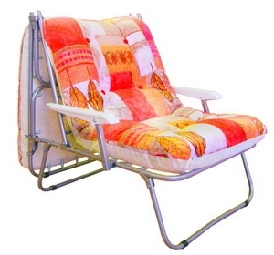 Кресло раскладушка с матрасом