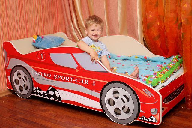 Кровать машинка для мальчика
