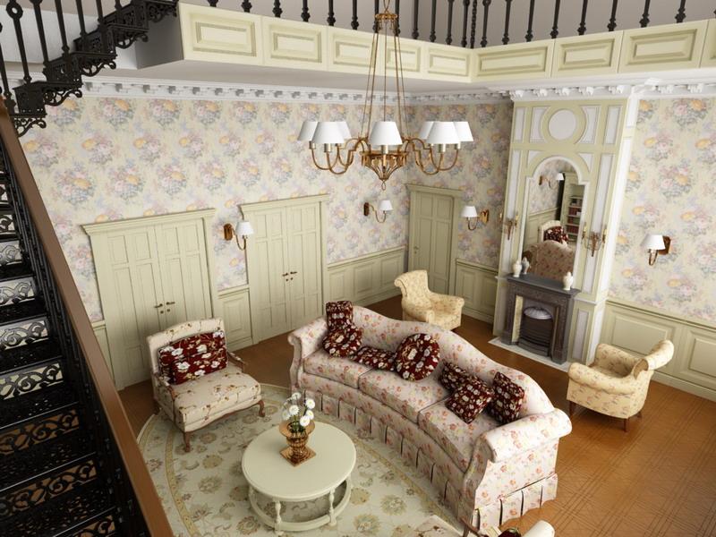 Мебельный гарнитур в стиле прованс