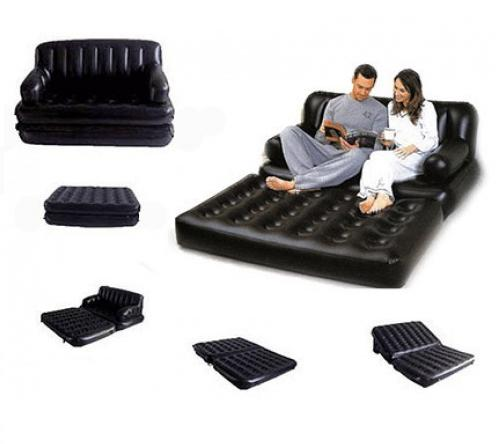 Надувной диван-трансформер