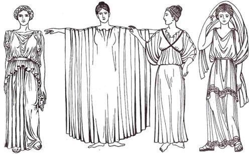 Рубашки для сна в древнем риме