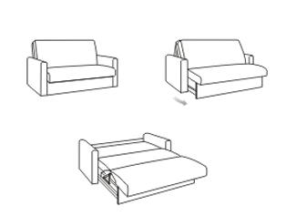 Механизм раскладывания диванов Аккордеон