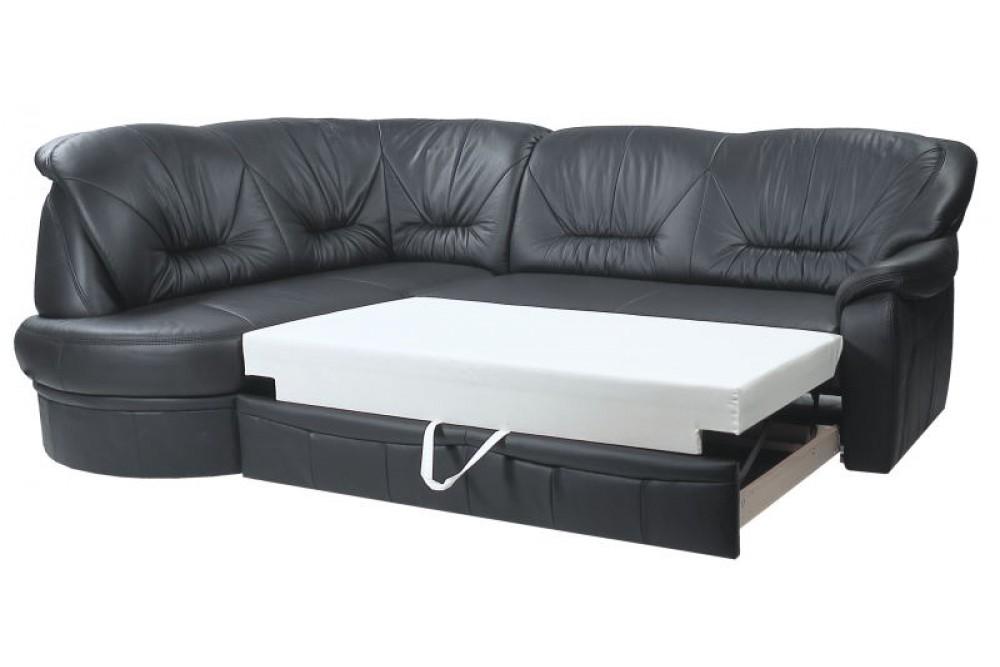 Разложенный угловой диван