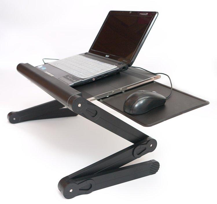 Как выбрать комфортный столик для ноутбука