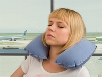 надувную подушку для шеи