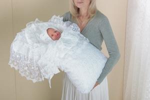 Одеяло на выписку из роддома
