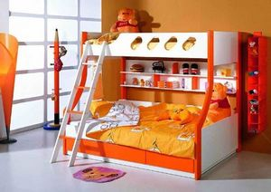 Двухъярусная конструкция, предназначенная для двоих детей