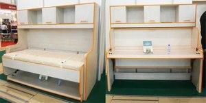 Кровать стол трансформер