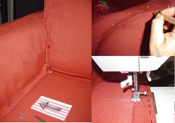 Чехол на диван, пошаговая инструкция