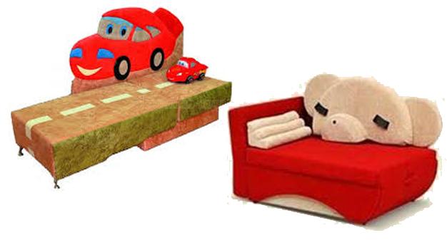 Детские диваны-канапе