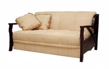 5 видов диванов с деревянными подлокотниками
