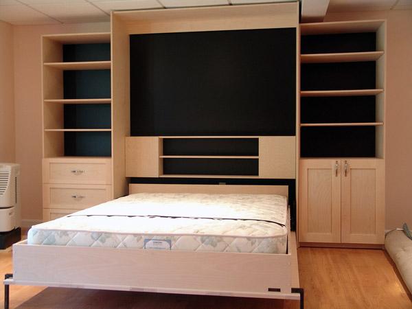 Двухспальная шкаф-кровать