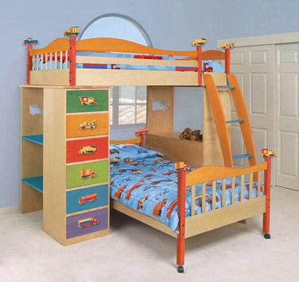 Двухярусная кровать для детей