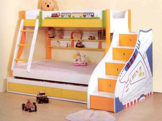 Двухэтажная детская кровать-чердак