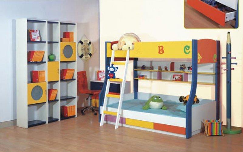 Двухэтажная детская кровать-комплект