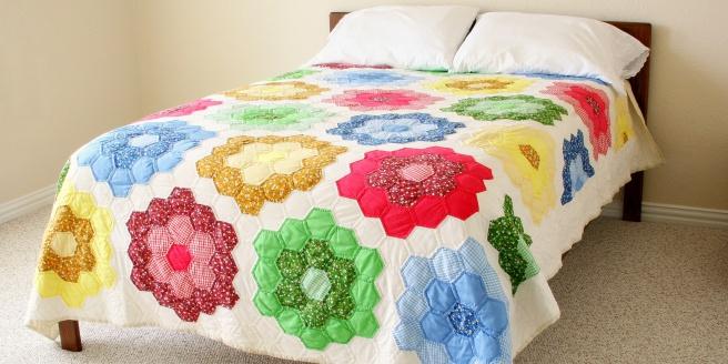 Как сшить лоскутное одеяло пэчворк