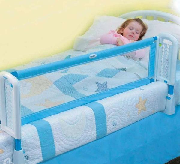 Как подобрать бортики для детской кровати