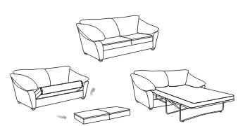 Механизм раскладывания диванов Sedaflex